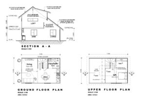 The Rembrandt - One Bed Loft Floorplan - Granny Flat Masters, Perth