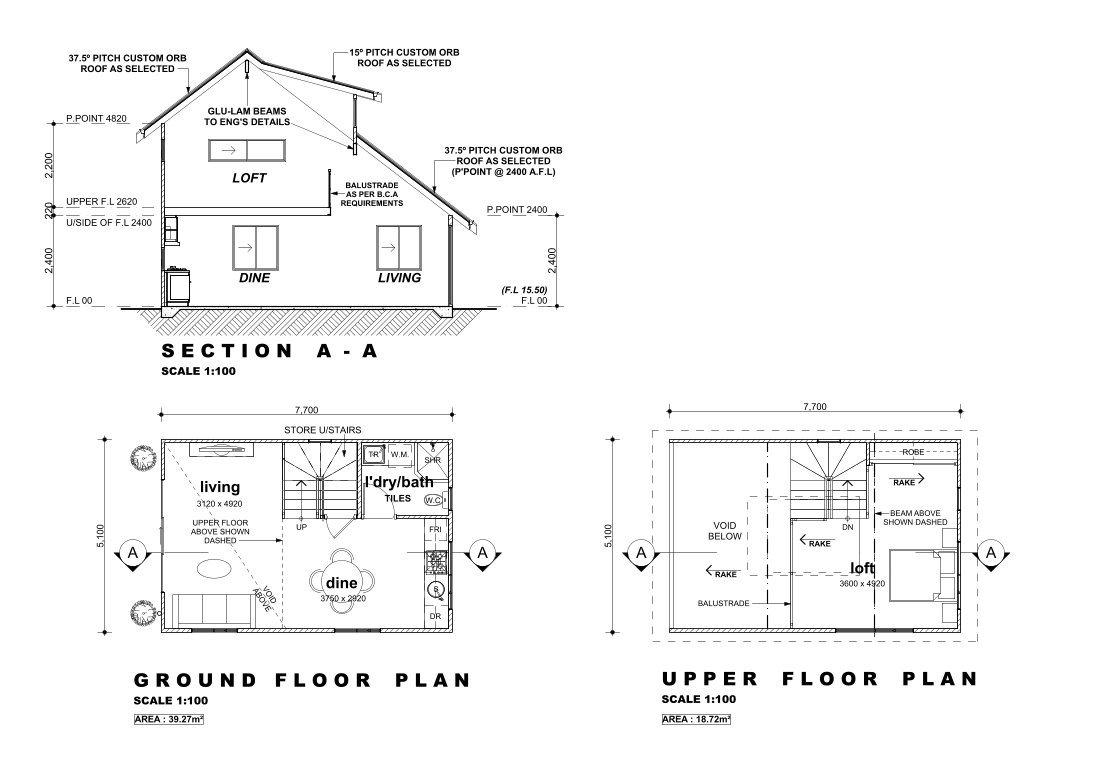 Rembrandt 2 bedroom loft granny flat granny flat for Rembrandt homes floor plans