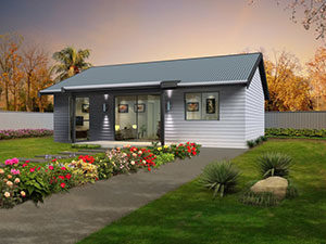Two Bedroom Granny Flat Pitched Roof